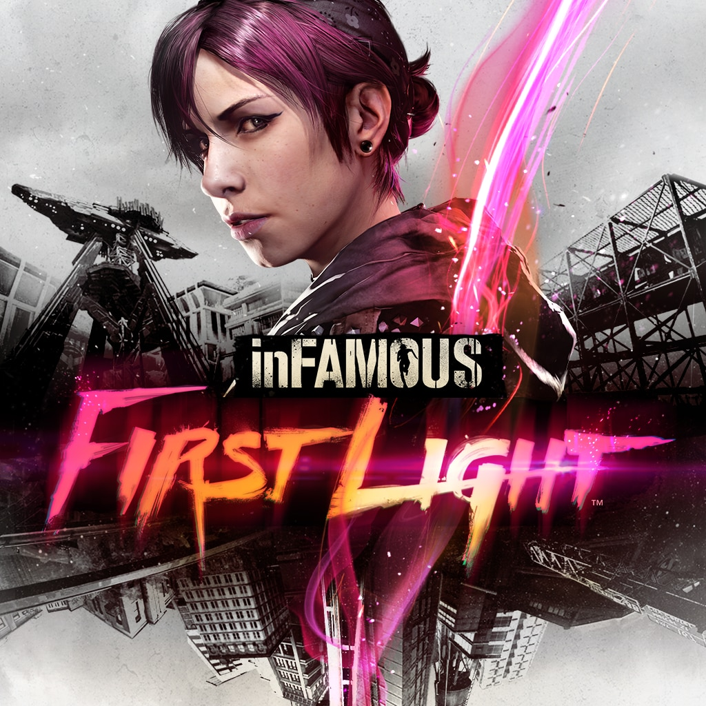 Jogo inFAMOUS First Light – PS4