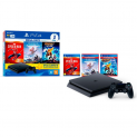 Console Sony PlayStation 4 Mega Pack 15, 1TB, Horizon Zero Dawn Complete Edition + Marvel's Spider-Man + Ratchet & Clank – CUH-2214B