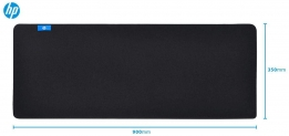 MOUSEPAD GAMER HP PRETO, EXTRA GRANDE – MP9040 (900X400MM)