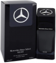 Mercedes Benz Select Night Edt for Men 100Ml, Mercedes Benz, Incolor, 100 Ml