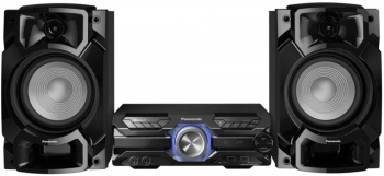 Mini System Panasonic 580W CD Bluetooth USB SC-AKX520LBK Bivolt Preto