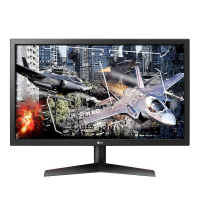 Monitor Gamer LG LED 24″, HDMI/DisplayPort, FreeSync, 144Hz, 1ms, Ajuste de inclinação – 24GL600F-B