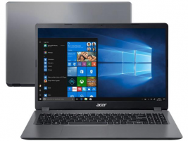 "Notebook Acer Aspire 3 A315-56-3090 Intel Core i3 – 8GB 256GB SSD 15,6"" Windows 10 – Magazine"