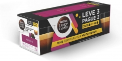 Pack Espresso Dolce Gusto 288g – Leve 3 Pague 2