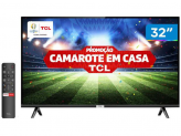 """Smart TV LED 32"""" TCL 32S6500S Android Wi-Fi – HDR Inteligência Artificial 2 HDMI USB – Magazine"""