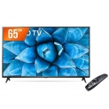 Smart TV LED 65″ 4K UHD LG 65UN731C 3 HDMI 2 USB Wi-Fi Assitente Virtual Bluetooth
